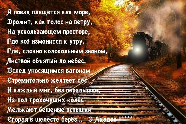 в поезде стихи знакомство